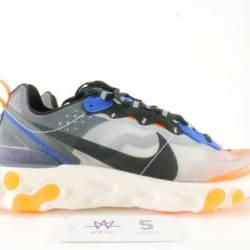 Nike react element 87 orange