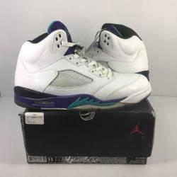Air jordan 5 grape sz 11