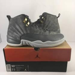 Air jordan 12 dark grey sz 10 5