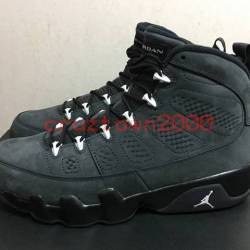 Nike air jordan 9 anthracite w...