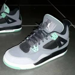 Nike air jordan 4 iv retro gre...