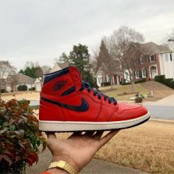 Air jordan retro 1 letterman