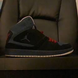 Red/black/blue jordan's
