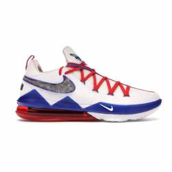 Nike lebron xvii 17 low (white...