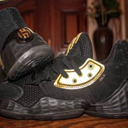 Adidas harden vol 4 black gold