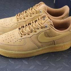 Nike air force 1 low flax whea...