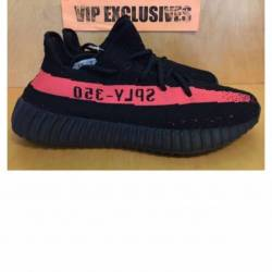 Yeezy boost 350 core black red