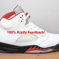 Air Jordan 5 Fire Red ...