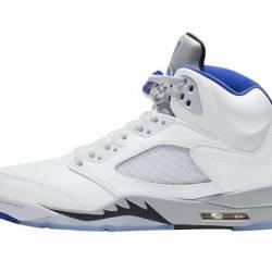 Air Jordan 5 White Cement