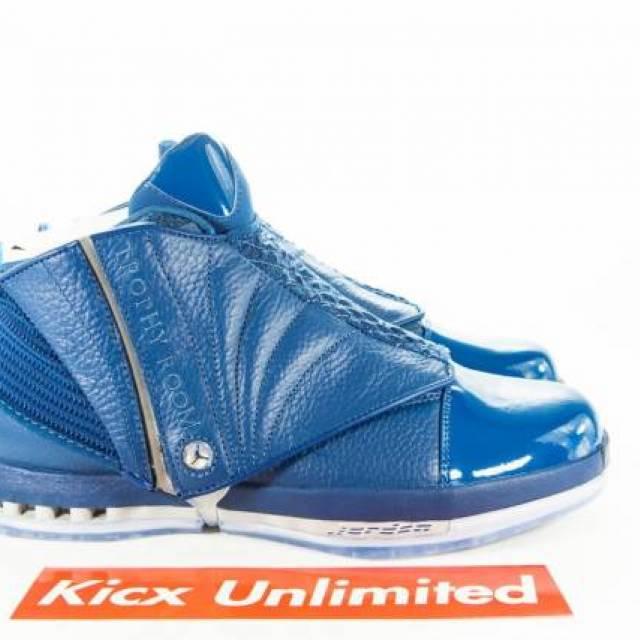 ef5346f9cdd AIR JORDAN 16 RETRO TROPHY ROOM Sz 10.5 BLUE DS 854255-416 | Kixify  Marketplace