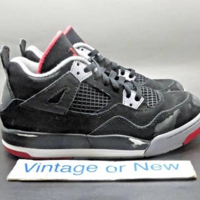 Nike Air Jordan IV 4 Bred Retro PS 2012