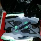Jordan IV 4 Green Glow *Brand New* Sz 10.5