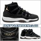 Nike Air Jordan 11 XI GS Retro PREM Heiress Black White Stingray 852625-030  8