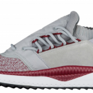 NEW PUMA TSUGI SHINSEI NOCTURNAL - MEN'S Gray Shoes Quarry/Tibetan Red c1