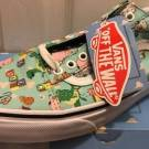 New Vans X Toy Story Andy's Andys Toys Old Skool Mint White Men's 8.5 Rare