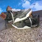 "Air Jordan Retro 4 "" Levi "" Distressed/Bleach Custom"