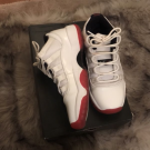 Air Jordan 11 Low White Varsity Red