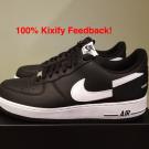 Supreme x Comme Des Garçons x Nike Air Force 1 Low Black